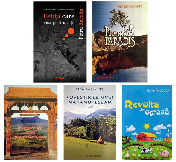 Serie de autor: PETRU RACOLȚA (SIONO Editura)